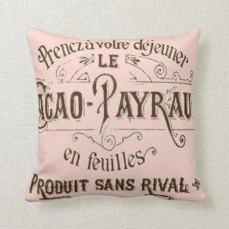 Almohadas francesas de MoJo del americano del choc