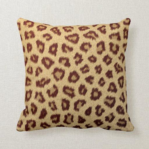 almohadas frescas del guepardo del leopardo