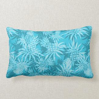 Almohadas lumbares hawaianas de Camo de la piña