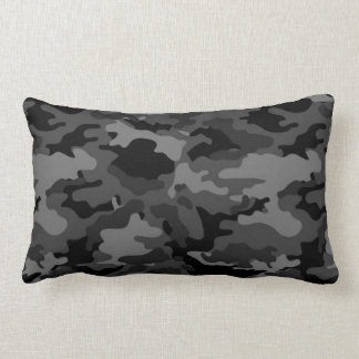 Almohadas negras de la almohada del camuflaje #2 d