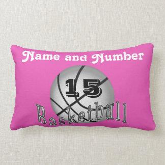 Almohadas personalizadas del baloncesto, sus