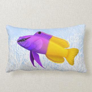 Almohadas reales del Lumbar de los pescados del