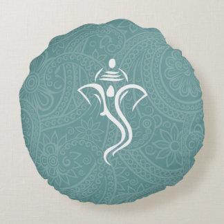 Almohadas redondas de encargo de Ganesha Cojín Redondo