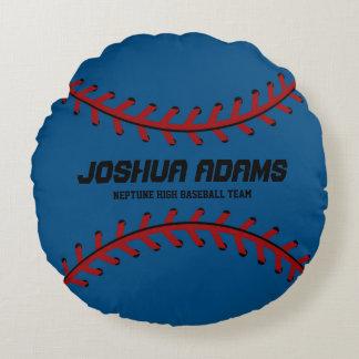 Almohadas redondas del equipo de deportes de los cojín redondo