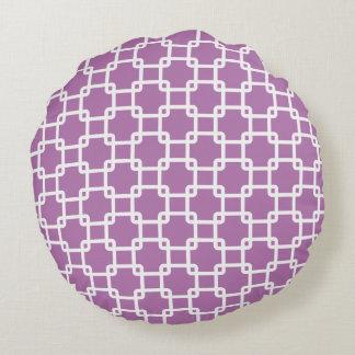 Almohadas redondas del vínculo cuadrado de la cojín redondo