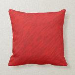 Almohadas rojas de la textura