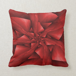 Almohadas rojas de los brazos espirales cojín decorativo