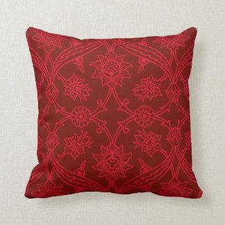Almohadas rojas de MoJo del americano del carrusel