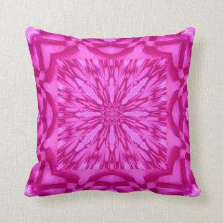 Almohadas rosadas brillantes de MoJo del americano