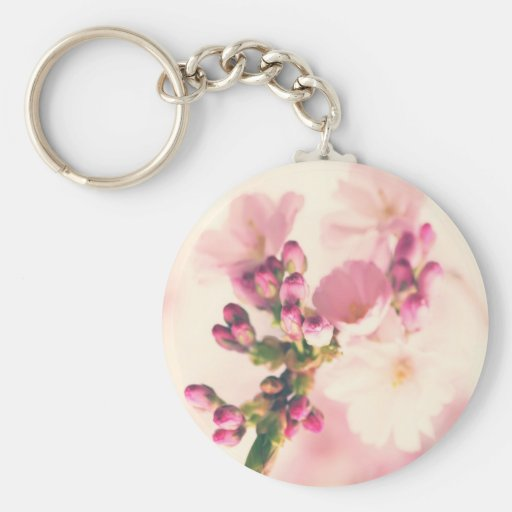 Almond blooms kind keychain