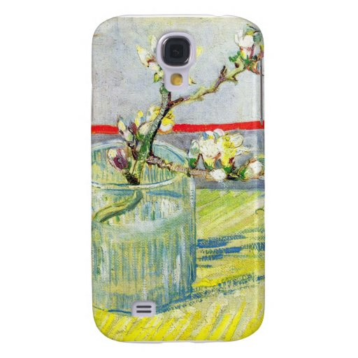 Almond Blossom branch by Vincent Willem van Gogh Samsung Galaxy S4 Covers