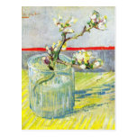 Almond Blossom branch by Vincent Willem van Gogh Post Card