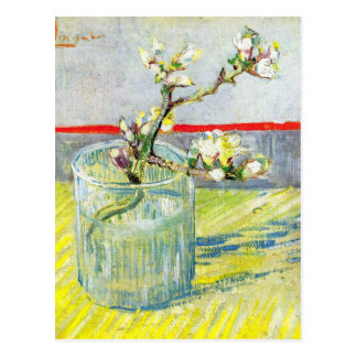 Almond Blossom branch by Vincent Willem van Gogh Postcard