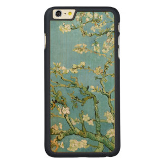 Almond Blossom Branches (F671) Van Gogh Fine Art Carved® Maple iPhone 6 Plus Slim Case