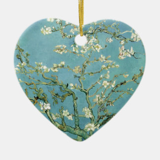 Almond Blossom by Van Gogh Ceramic Ornament