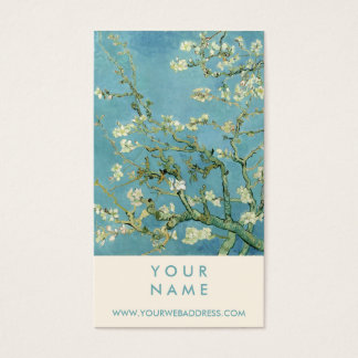 Almond Blossom by Van Gogh Fine Art Business Card