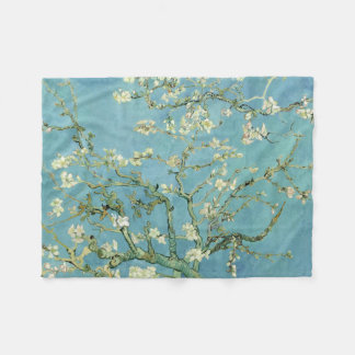 Almond Blossom by Van Gogh Fine Art Fleece Blanket