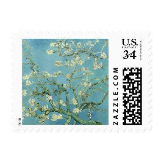 Almond Blossom by Van Gogh Fine Art Postage Stamp
