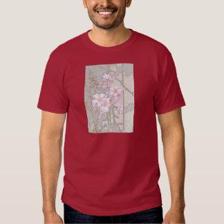 Almond Blossom Fence Tee Shirt
