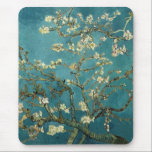 "Almond Blossom Mousepad<br><div class=""desc"">Almond Blossom by Vincent van Gogh Mousepad Almond Blossom was painted in 1890 in honor of a special event in Vincent&#39;s life. On January 31, Vincent&#39;s brother Theo and his wife Johanna had a son, and they named him Vincent Willem. Vincent painted this branch of blossoming almond in celebration of...</div>"