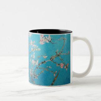 Almond Blossom Two-Tone Coffee Mug