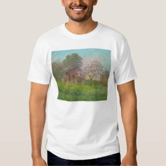 Almond Blossoms and Wild Mustard (1152) Tee Shirt