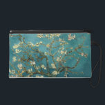 "Almond Blossoms Arles Wristlet<br><div class=""desc"">Almond Blossom by Vincent van Gogh Almond Blossom was painted in 1890 in honor of a special event in Vincent&#39;s life. On January 31, Vincent&#39;s brother Theo and his wife Johanna had a son, and they named him Vincent Willem. Vincent painted this branch of blossoming almond in celebration of the...</div>"
