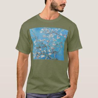 Almond Blossoms Blue Vincent van Gogh Art Painting T-Shirt