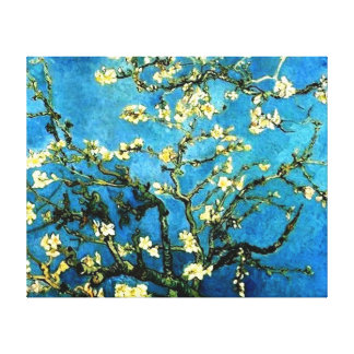 Almond Blossoms by VanGogh Wrapped Canvas