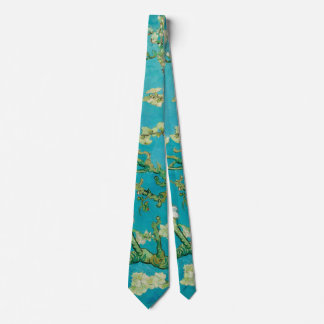 Almond Blossoms by Vincent van Gogh (1890) Neck Tie
