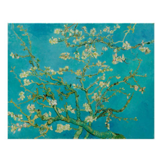 Almond Blossoms by Vincent van Gogh (1890) Poster