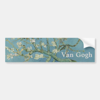 Almond Blossoms by Vincent Van Gogh Bumper Sticker