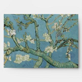 Almond Blossoms by Vincent Van Gogh Envelope