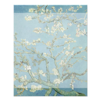 Almond Blossoms by Vincent Van Gogh Flyer