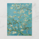 """Almond Blossoms by Vincent van Gogh Postcard<br><div class=""""desc"""">Almond Blossoms from is a group of several paintings made in 1888 and 1890 by Vincent van Gogh in Arles and Saint-Rémy, southern France of blossoming almond trees. Flowering trees were special to Van Gogh. They represented awakening and hope. He enjoyed them aesthetically and found joy in painting flowering trees....</div>"""