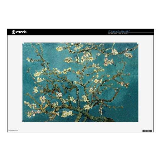 Almond Blossoms Laptop Skin