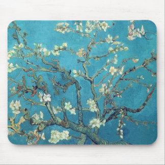 Almond Blossoms Mouse Pad