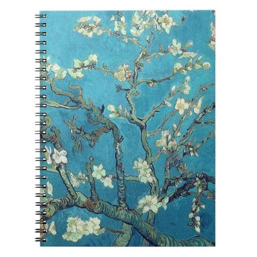 Almond Blossoms Note Books