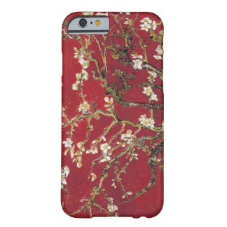 Almond Blossoms Red Vincent van Gogh Art Painting Barely There iPhone 6 Case