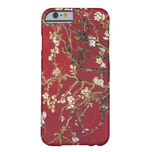 Almond Blossoms Red Vincent van Gogh Art Painting Phone Case