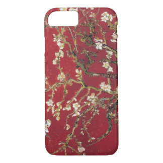 Almond Blossoms Red Vincent van Gogh Art Painting iPhone 7 Case