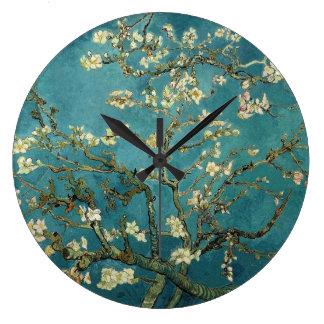 Almond Blossoms Wall Clock