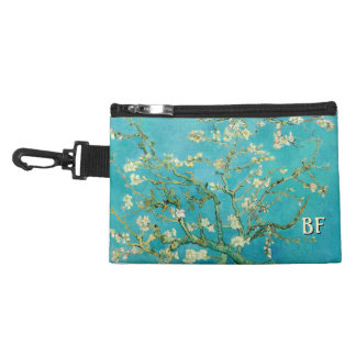 Almond Blossoms with your Initials Accessory Bag