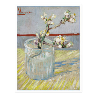 Almond Branch in a Glass by van Gogh Postcard