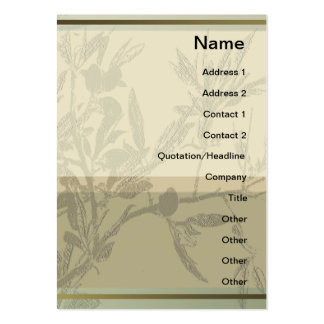 Almond Branches 1 Profile Card Large Business Card