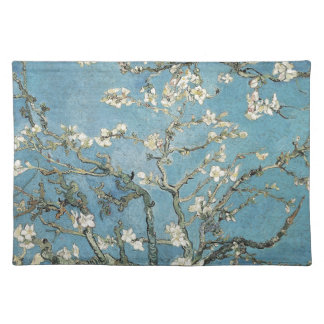 Almond branches in bloom, 1890, Vincent van Gogh Cloth Placemat