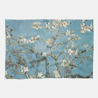 Almond branches in bloom, 1890, Vincent van Gogh Kitchen Towel