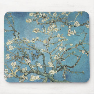 Almond branches in bloom, 1890, Vincent van Gogh Mouse Pad