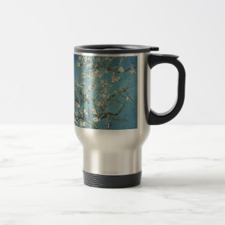 Almond branches in bloom, 1890, Vincent van Gogh 15 Oz Stainless Steel Travel Mug