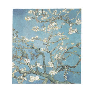 Almond branches in bloom, 1890, Vincent van Gogh Memo Pads